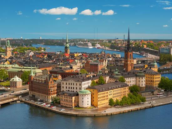 Suecia y su carpintería exterior.