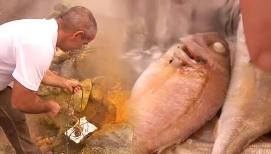 Nápoles, cocina con geotermia